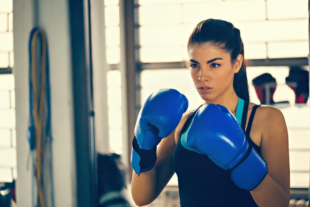 キックボクシング 体重と時間別のカロリー消費量