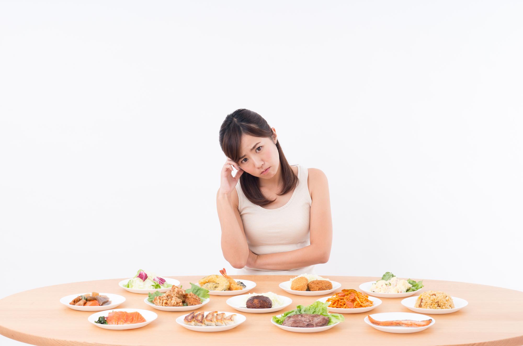 ダイエットに効果的な食事・NGな食事