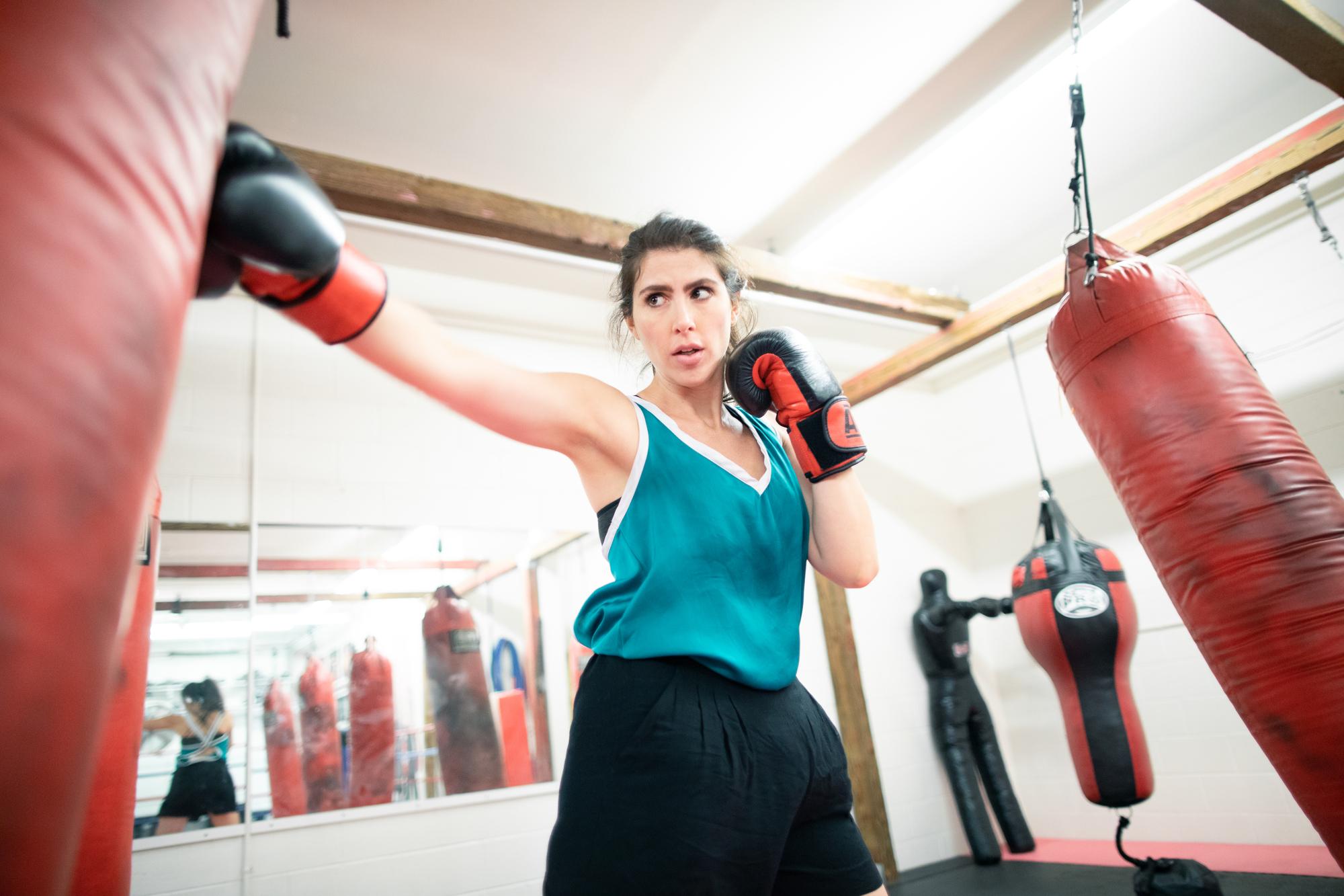 さっそく女性向けのキックボクシングの習い事にチャレンジ!