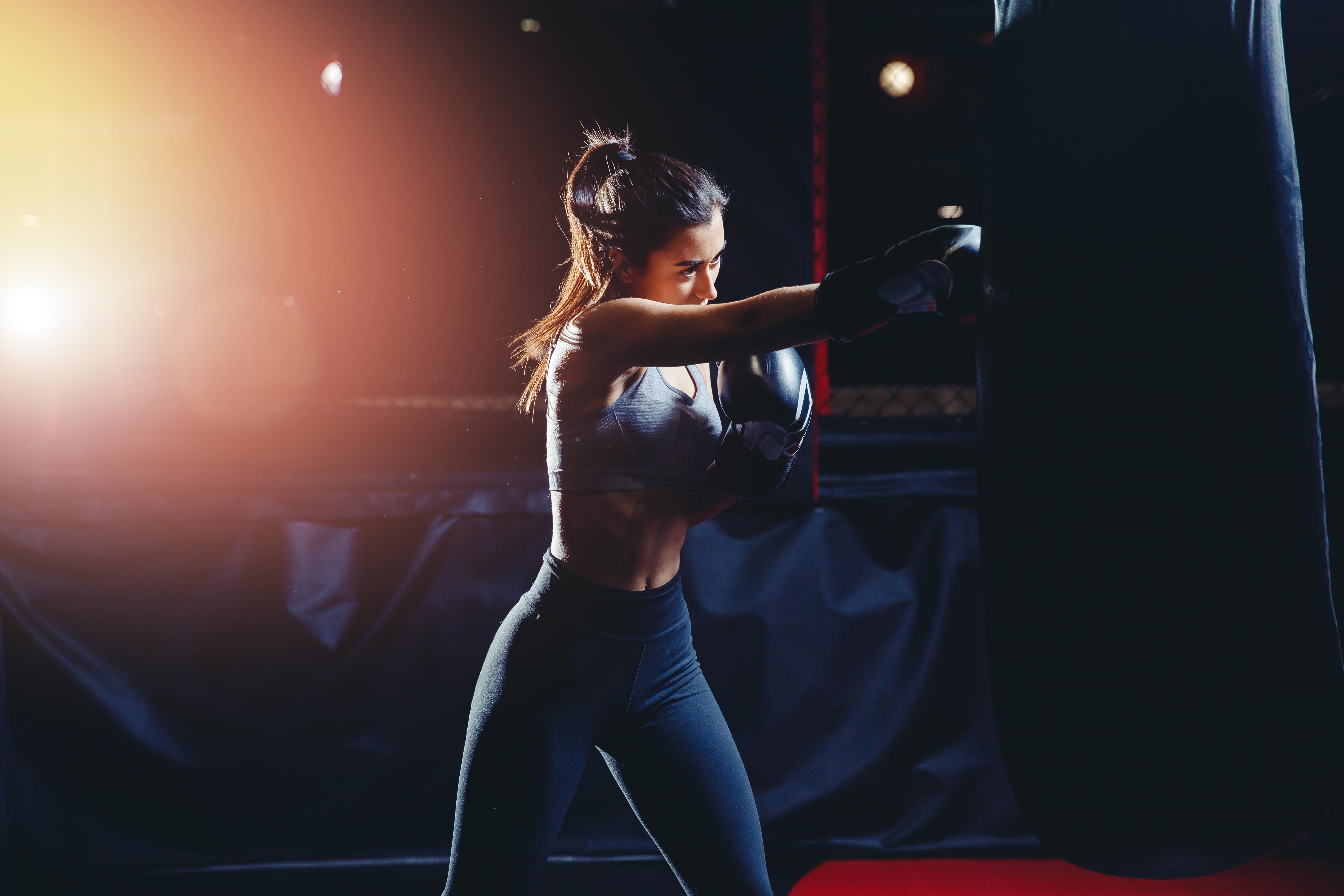 自宅でキックボクシングのオンラインレッスンが受けれます!
