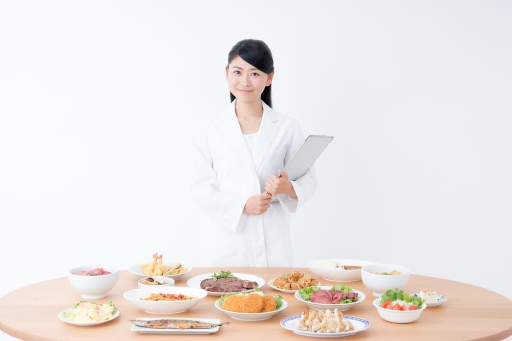 管理栄養士から食事のアドバイスを受けられる