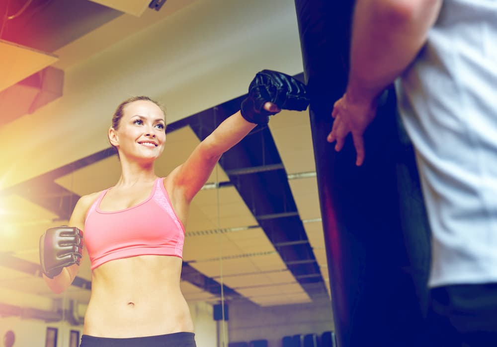 女性専用のキックボクシングジムの場合