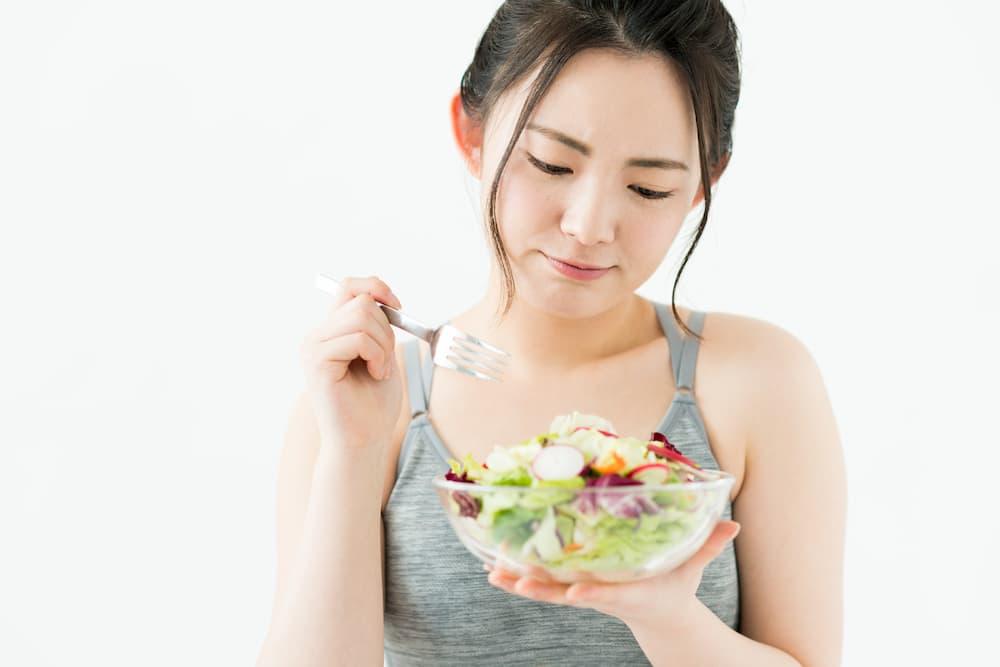 食事制限のみのダイエットのデメリット