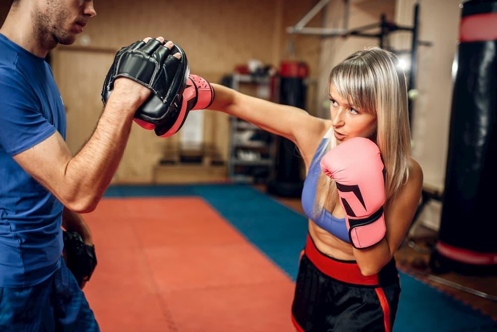 キックボクシングの動きはスタイルアップに効果的!