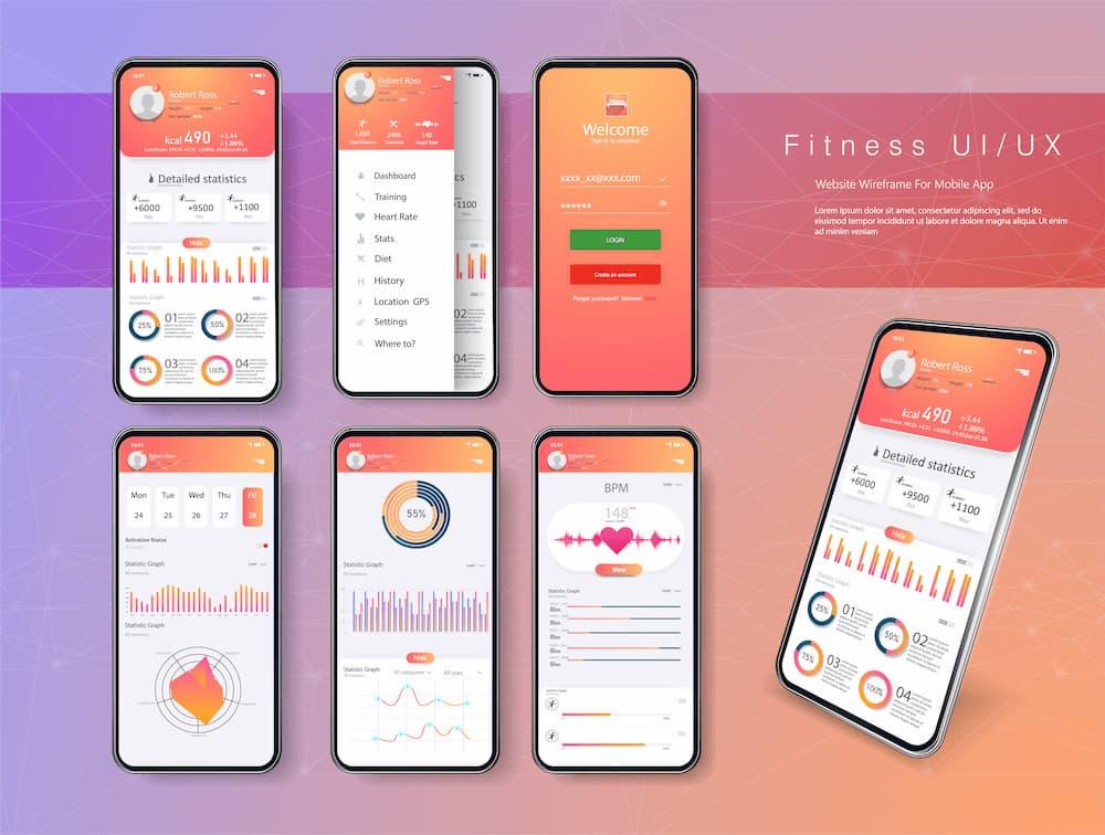 体重管理もできる総合フィットネスアプリ