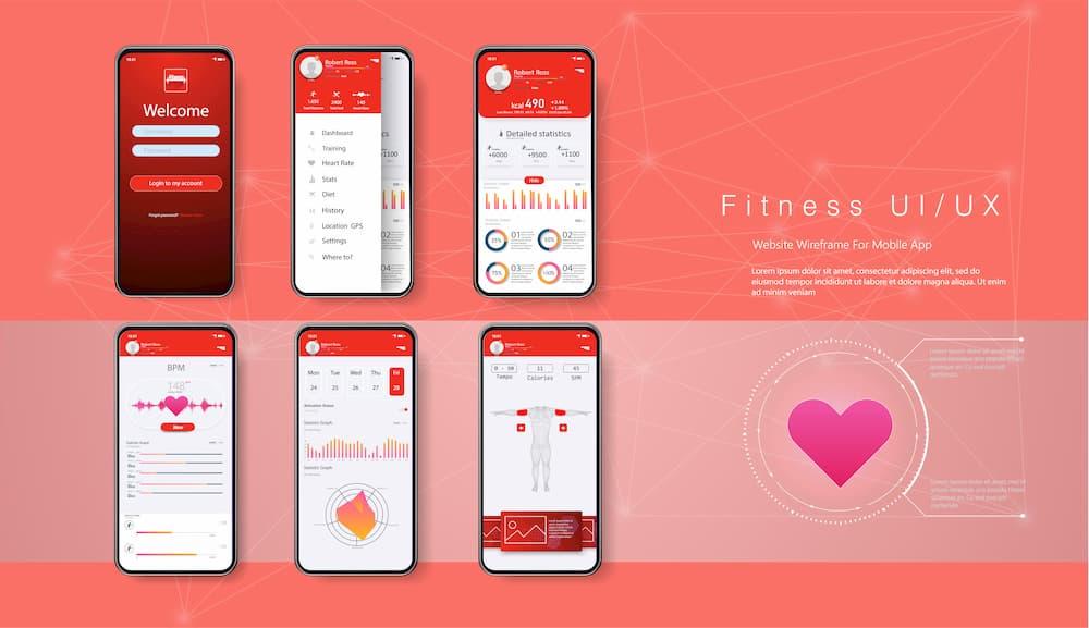 専用アプリと心拍計でモチベーションアップ