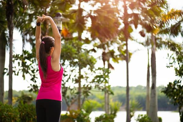 筋肉痛を緩和するストレッチ:腕