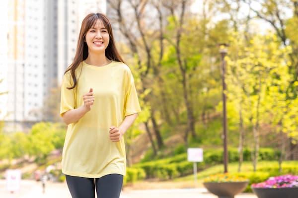 体脂肪率を落とす方法:運動する
